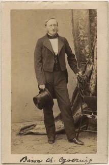 Charles, Baron Czoernig von Czernhausen, by Unknown photographer - NPG Ax16239