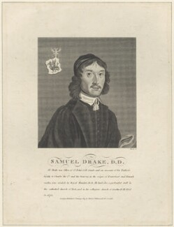 Samuel Drake, by Andrew Birrell, published by  Robert Wilkinson - NPG D29626