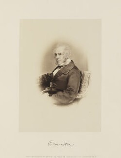 Henry John Temple, 3rd Viscount Palmerston, by Samuel Alexander Walker, printed and published by  William Walker - NPG Ax15857