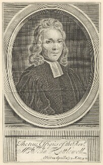 John Kettlewell, by Michael Vandergucht, after  Henry Tilson, published 1718 - NPG D29635 - © National Portrait Gallery, London