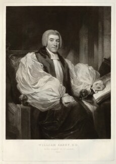 William Carey, by Samuel William Reynolds, after  Samuel William Reynolds Jr - NPG D32621
