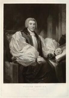 William Carey, by Samuel William Reynolds, after  Samuel William Reynolds Jr - NPG D32621