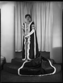 Margaret Haig Mackworth (née Thomas), 2nd Viscountess Rhondda, by Bassano Ltd - NPG x152774