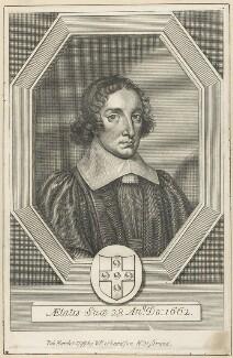 Edmund Elys, after William Faithorne, published by  William Richardson - NPG D29642