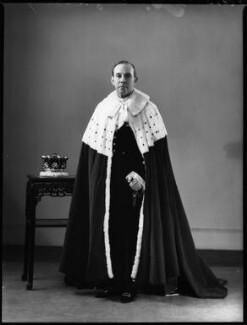 Hardinge Goulburn Giffard, 2nd Earl of Halsbury, by Bassano Ltd - NPG x152776