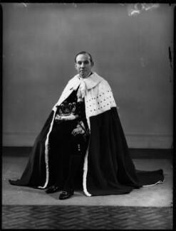 Hardinge Goulburn Giffard, 2nd Earl of Halsbury, by Bassano Ltd - NPG x152780