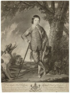 Frederick Howard, 5th Earl of Carlisle, by Jonathan Spilsbury, after  Sir Joshua Reynolds - NPG D32623