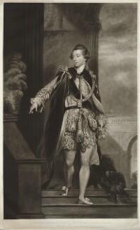 Frederick Howard, 5th Earl of Carlisle, by William James Ward, after  Sir Joshua Reynolds - NPG D32626