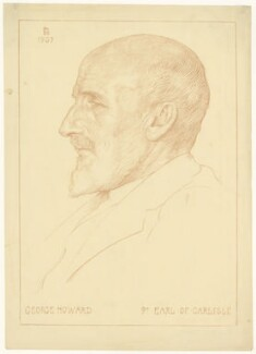 George James Howard, 9th Earl of Carlisle, by L.D. - NPG D32632