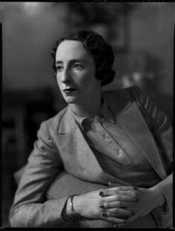 Joan Bickerton (née Chetwynd-Talbot), by Bassano Ltd - NPG x152810