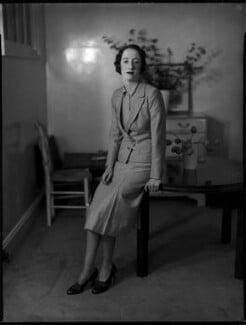 Joan Bickerton (née Chetwynd-Talbot), by Bassano Ltd - NPG x152811