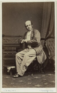 David Nunn Fisher as Mr Puffy in 'The Streets of London', by Charles Bristow Walker - NPG x13817