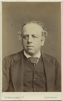 David Nunn Fisher, by London Stereoscopic & Photographic Company, 1874 or before - NPG Ax28520 - © National Portrait Gallery, London