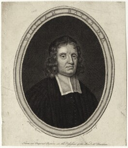 William Bates, by James Caldwall, after  Sir Godfrey Kneller, Bt - NPG D29675
