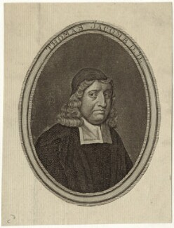 Thomas Jacombe, by James Caldwall, after  John Riley - NPG D29676