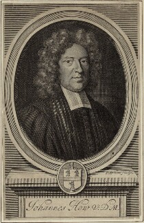 John Howe, by Robert White - NPG D29690
