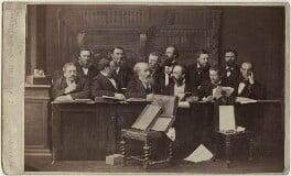 The Jury at the Tichborne Criminal Trial, by (George) Herbert Watkins, 1873 - NPG Ax30398 - © National Portrait Gallery, London