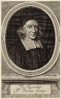Thomas Gouge, by Robert White, after  John Riley - NPG D29701