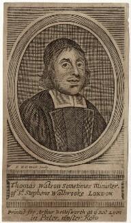 Thomas Watson, by Frederick Hendrik van Hove - NPG D29709