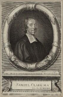 Samuel Clarke, by Robert White - NPG D29716