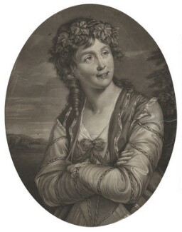 Ann Catley as Euphrosyne in Milton's 'Comus', by Robert Dunkarton, after  William Lawranson - NPG D32672