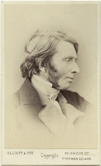 John Ruskin, by Elliott & Fry - NPG Ax39887