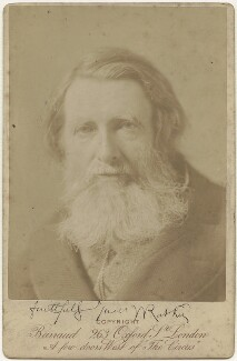 John Ruskin, by Herbert Rose Barraud - NPG x1372