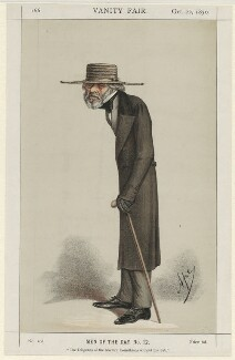 Thomas Carlyle ('Men of the Day no. 12.'), by Carlo Pellegrini - NPG D32681