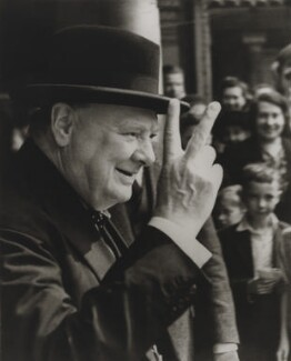 Winston Churchill, by Robert Elliot - NPG x17071