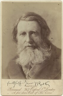 John Ruskin, by Herbert Rose Barraud - NPG x13289