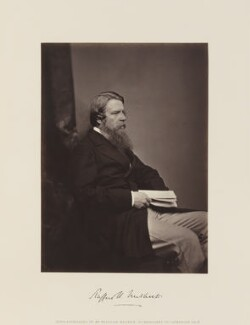 Sir Stafford Henry Northcote, 1st Earl of Iddesleigh, by and published by William Walker - NPG Ax15851