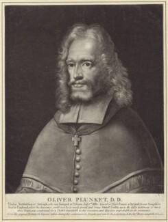 Oliver Plunket (St Oliver Plunket), possibly by Robert Laurie - NPG D29771