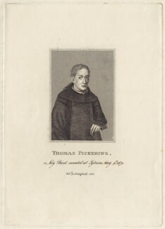Thomas Pickering, after Unknown artist, published by  James Caulfield - NPG D29776