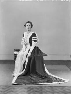 Edith Jane Allanson-Winn (née Dods), Lady Headley, by Bassano Ltd - NPG x152881