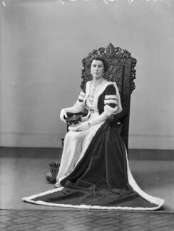 Edith Jane Allanson-Winn (née Dods), Lady Headley, by Bassano Ltd - NPG x152882