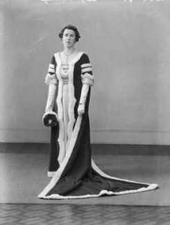 Edith Jane Allanson-Winn (née Dods), Lady Headley, by Bassano Ltd - NPG x152884
