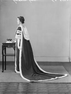 Edith Jane Allanson-Winn (née Dods), Lady Headley, by Bassano Ltd - NPG x152885