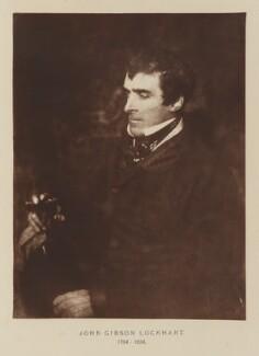 John Gibson Lockhart, after David Octavius Hill, and  Robert Adamson - NPG Ax29528