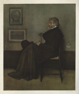 Thomas Carlyle, published by The Medici Society Ltd, after  James Abbott McNeill Whistler - NPG D32683