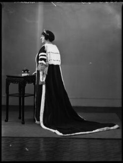 Ivy Florence Mary (née Segrave), Lady Arundell of Wardour, by Bassano Ltd, 13 May 1937 - NPG x152899 - © National Portrait Gallery, London