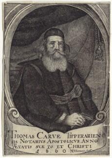 Thomas Carve (Carue, Carew), by M. Vlizmayr - NPG D29790