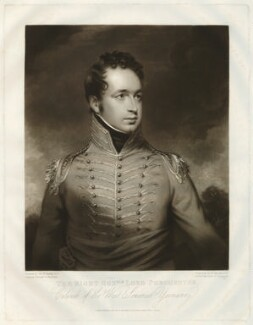 Henry George Herbert, 2nd Earl of Carnarvon, by William Say, after  Sir William Beechey - NPG D32689