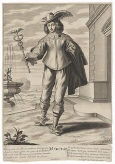 Maurice, Prince Palatine, by Gilles Rousselet, after  Grégoire Huret - NPG D32642