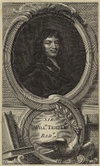 Sir William Temple, Bt, after Sir Peter Lely - NPG D29816