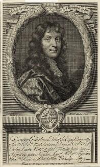 Sir William Temple, Bt, by Michael Vandergucht, after  Sir Peter Lely - NPG D29820