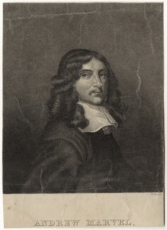Andrew Marvell, by William Read, early 19th century - NPG D29831 - © National Portrait Gallery, London