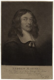 Andrew Marvell, by John Raphael Smith, after  Unknown artist - NPG D29834