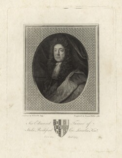 Sir Edmund Turnor, by James Fittler, after  Herman Verelst - NPG D29838