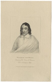 William Lenthall, by R. Cooper - NPG D29839