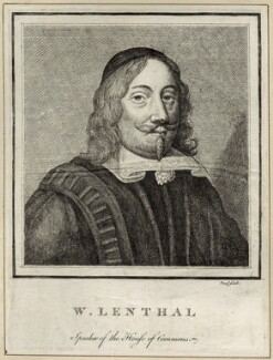 William Lenthall, after Unknown artist - NPG D29840